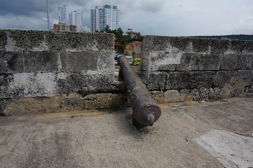 "Part of the 11 Kilometers of Defensive Walls that Protect Old Town Cartagena. • <a style=""font-size:0.8em;"" href=""http://www.flickr.com/photos/28558260@N04/38100161774/"" target=""_blank"">View on Flickr</a>"