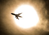 Emergence (Kevin Rodde Photography) Tags: sun airplane aircraft glare zoom sigma 150600mm airline passenger sol star canon eos6d kevinrodde kevinroddephotography