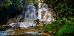 Kuang Si Waterfall (innlai) Tags: kuang si waterfall nikon d750 20mm f18g luang prabang