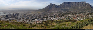 Panoramic view from Signal Hill, Cape Town, South Africa