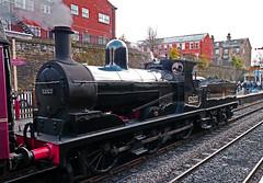 Class 27 0-6-0 52322 Locomotive. (wontolla1 (Septuagenarian)) Tags: 52322 steam loco elr east lancs railway lancashire bury bolton street station class 27 060 horwich works lyr panasoniclumix14mmf25asphpancake flickrunitedaward