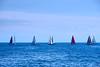 Passerella - Sfilata di moda (Fnikos) Tags: sky skyline sea water seascape boat sailboat people passerella pasarela serene vehicle outdoor