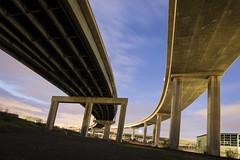 macarthur maze (eb78) Tags: ca california oakland eastbay nightphotography npy longexposure ue urbex urbanexploration freeway overpass