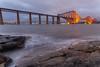 Moody evening (ola_er) Tags: forth bridge steel construction engineering moody evening landscape long exposure scotland