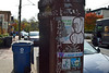 Street Messages (MTSOfan) Tags: newhope mainstreet route32 poster utilitypole irony urbanmessage struggle dark fear choices street