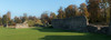 autumn at the castle... (petegatehouse) Tags: berkhamsted herts ruins castle panorama