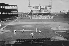 1947 (Crawford Brian) Tags: baseball stlouis browns newyorkyankees 1947 sportsmanspark dodierandgrand misourri usa mlb majorleague blackwhite monochrome foundphoto