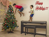 Happy Holidays To All! (TheGreatContini) Tags: christmas holiday vincent jayden photoshop peaceonearth humour humor conceptualphotography creativephotography l