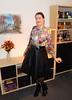 GOTCHA! (Rikky_Satin) Tags: silk satin bow blouse pattern leather skirt petticoat pantyhose ankle boots crossdresser tgirl gurl