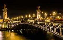 Pont Alexandre III Paris (Bouhsina Photography) Tags: paris 2017 canon seine pont alexenderiii france lumière couleur long exposition rivière scenne bouhsina bouhsinaphotography