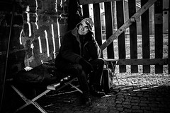 Sunshine in his bedroom (AlphaAndi) Tags: monochrome mono menschen menschenbilder leute people personen portrait trier tiefenschärfe urban wow dof deepoffield fullframe face nahaufnahme city closeup sony streetshots schwarzweis streets streetshooting streetportrait street sw streetphotographie strase strasenleben streetlife streetszene blackandwhite blackwhite bw bokeh bokehlicious bettler beggar
