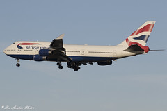 G-BYGG 0912ii copy (Baz Aviation Photo's) Tags: gbygg boeing747 britishairways ba heathrow lhr egll 27l 2017