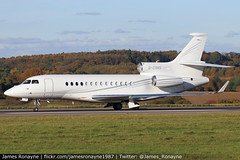 G-CRNS | Dassault Falcon 7X | TAG Aviation (UK) (james.ronayne) Tags: gcrns | dassault falcon 7x tag aviation uk fa7x aeroplane airplane plane aircraft jet bizjet biz bizav businessaviation flying corporate corp corpjet executive execjet exec vip private luton ltn eggw canon 80d 100400mm raw
