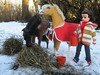 1. Here boy! Want some oats to go with that? (CooperSky) Tags: sindy horse winter doll