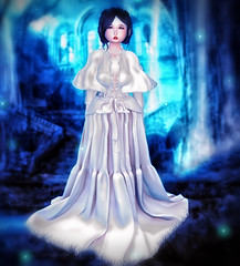 - (ZameNezrulain) Tags: zame night gown nightgown fantasy art photo photography photoshop dreamland dream portrait secondlife second life avatar mesh bento digital virtual girl woman kawaii cute asian sparkly zenith truth moremore izzies maitreya catwa hanako etherion avi sl selfie people