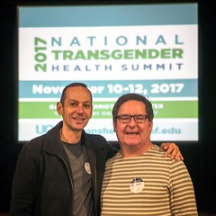 We are honored to be in attendance as family medicine physicians #WorkingToBeAllies & as PermanenteDoctors & UC San Francisco E. Michael #NTHS2017 #TransVisibility #TransEquality ❤️️🌈🌍