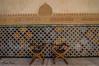 Patio de los Arrayanes (Alhambra). (jorgerojas14) Tags: granada sillas islamicas madera cuero azulejos colores alhambra patio tokina1116mm maravilla
