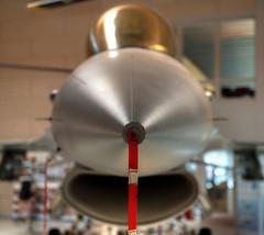 Pitot (Svendborgphoto) Tags: aircraft fightingfalcon f16 airforce danishairforce danskflymuseum millitary nikkor denmark d800 dof jet 2470mm bokeh