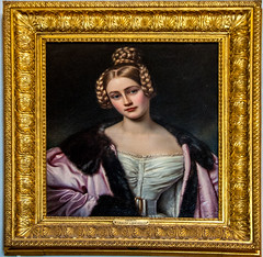 Room of Beauties (Tony Shertila) Tags: 20170827134130 germany nymphenburgpalace schlossnymphenburg wittelsbach architecture baroque bavaria building canal clouds estate europe fountain gardens indoor lake munchen munich palace sky woodland münchen bayern deutchland art painting portrait deu