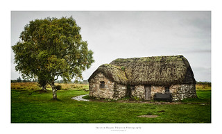 The Highland House II - Leanach Cottage - Culloden Battlefield