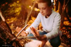 Playing Robinson ... {Explored} (Sam' place) Tags: automne fall fun leaves outdoor tree profoto b1 profotob1 explored i500 interestingness
