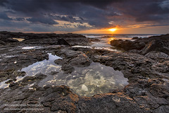 Wawaloli Sunset (hazarika) Tags: wawalolibeach bigisland hawaii sunset seascape pacificcoast mausamhazarikaphotography