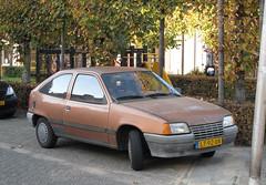 1985 Opel Kadett 1.3N GL Automatic (rvandermaar) Tags: 1985 opel kadett 13n gl automatic opelkadett e kadette opelkadette vauxhall astra sidecode4 lt92xn