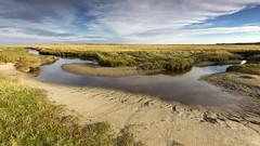 Texel - De Slufter (Rob Kints (Robk1964)) Tags: decocksdorp dunes sanddunes slufter strand texel thenetherlands vuurtoren estuary tides getijden sluftervallei