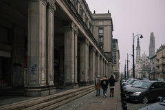 Gloomy day (Criochi) Tags: warsaw city citylife streetphotography street architecture cityscape poland polonia