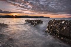 Break on Through (EXPLORE) (SkyeWeasel) Tags: scotland skye highlands broadford broadfordbay sunset tide rocks ngc npc