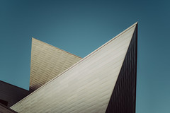 """4,745 """"2fold-point-plane"""" (Panda1339) Tags: denver squareformat angles 11 abstract architecture colorado museumofart sky"""