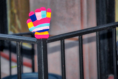 w 74th st nyc - lost glove (avflinsch) Tags: ifttt 500px street colors fence nyc iron lost glove amnh