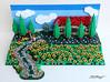 Tuscany cottage (sdrnet) Tags: lego tuscany flower cottage painting landscape cypresses
