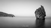 The Rock (Christos Zoumides) Tags: sea seascape landscape shore swash longexposure leefilters mediterranean cyprus pafos petratouromiou aphroditesrock morning aphroditerock nature tranquillity outdoor sky beach water ocean monochrome blackandwhite nikon nikond750 wbpa nikon2470mm nationalgeographic ngc
