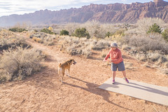 Moab, UT disc golf with Greg 11.25.17 (dsrphotography) Tags: desert disc discgolf golf greg moab samson utah