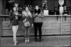 Take three girls - DSCF8753a (normko) Tags: london west hyde park winter wonderland german village fun fair bars food stalls amusements girls
