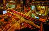 Night moves (Stan Smucker) Tags: bangkok lighttrails cityscape bts skytrain longexposure architecture sukhumvit