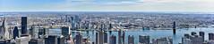 looking across the East River into Brooklyn (maaachuuun) Tags: brooklyn eastriver manhattan newyork nyc queensborobridge panorama panoramic 2470mm unheadquarter chryslerbuilding rooseveltisland hdr