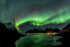 Aurora (Simone Gramegna) Tags: aurora auroraborealis auroraboreale borealis boreale senja hamnisenja hamn norway norvegia northernlights northernlight tromso winter cold stars night nightscape