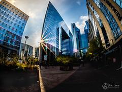 La défense (Olympus Passion eric leroy) Tags: paris galeries lafayette city cityscape urbain urban olympus couleurs zuiko fisheye 8mm omd em1 mkii mk 2