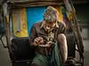 17 11 Kolkata (Time to try) Tags: rickshaw kolkata tired olympus 75mmf18 portrait street mft