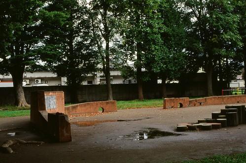 A vacant park