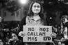"""""""NO NOS CALLAN MÁS"""" (efdiversas) Tags: alerta feminista pancarta efd"""