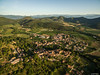 Drone flying above Santa Pau (Spain, Catalunya) (falk.petro) Tags: fromabove drone spain luftaufnahmen urlaub luftaufnahme flying quadrokopter flickr spanien santapau catalunya es