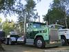 Lemmon's Trucking 1981 International 4300, Truck# 25 (Michael Cereghino (Avsfan118)) Tags: larry lemmons trucking ih international 81 1981 4300 daycab semi bobtail brooks 25th annual truck show convention 2017