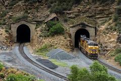 Exiting Nolan Tunnels (Colorado & Southern) Tags: unionpacific unionpacificrailroad gees44ac emdsd70m manifest manifesttrain trains train railfanning railroad railfan railway railroads railroading rail rr railroadtrack utah utahrailfanning utahrailroads utahtrain utahtrains utahrailfan soldiersummit