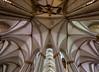 Gewölbe im Kölner Dom (ulrichcziollek) Tags: nordrheinwestfalen kirche kathedrale kirchen köln gewölbe gotik gotisch rippengewölbe kreuzgewölbe gebäudestruktur