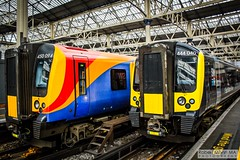LondonWaterlooRailStation2017.10.31-15 (Robert Mann MA Photography) Tags: londonwaterloorailstation londonwaterloostation londonwaterloo waterloorailstation waterloostation waterloo lambeth londonboroughoflambeth london greaterlondon station trainstation trainstations railwaystation railstation railwaystations railstations railway railways architecture train trains city centre cities londoncitycentre 2017 tuesday autumn 31stoctober2017 networkrail networkrailwaterloo southwesttrains southwesternrailway class450 desiro class450desiro class444 class444desiro class707 desirocity class707desirocity class458 juniper class458juniper class455 class456 class159 southwesternturbo class159southwesternturbo