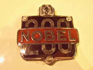 593 Nobel (200) Badge - History