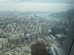 IMG_0563 (Sweet One) Tags: icc sky100 observationdeck view city skyline buildings towers hongkong harbour